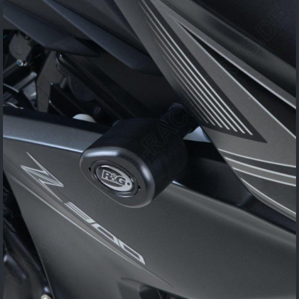 "R&G Racing Sturzpads ""No Cut"" Kawasaki Z 250 2013-2018 / Z 300 2015-"