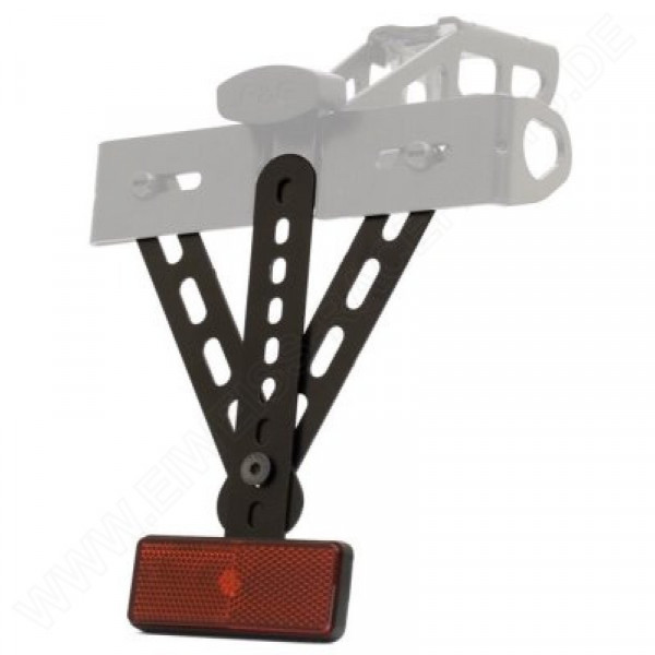 R&G plate holder reflector extender kit Professionell E-marked