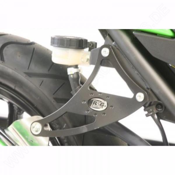 R&G Racing Auspuffhalter Kawasaki Ninja ZX-250 R 2008-2012