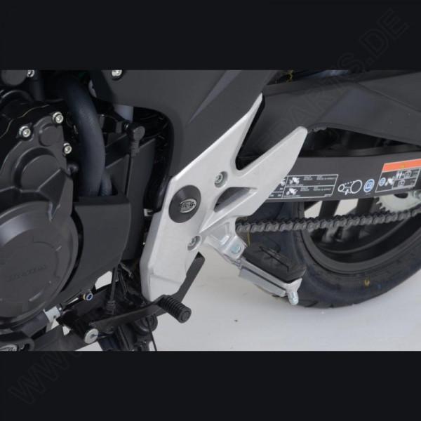 R&G Racing frame plug kit Honda CBR 500 R 2013-2015