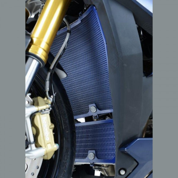 R&G Racing Radiator Guard Dark Blue BMW S 1000 RR / HP 4