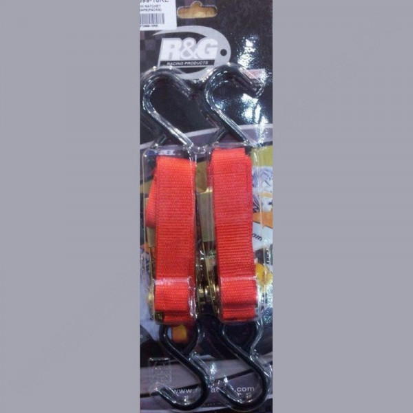 R&G Racing Ratchet Straps with Hooks