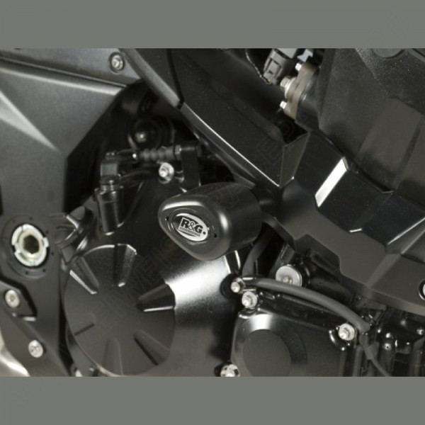 "R&G Racing Crash Protectors ""No Cut"" Kawasaki Z 1000 2007-2009"
