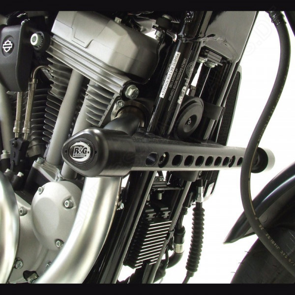 "R&G Racing Crash Protectors ""No Cut"" Harley Davidson XR 1200"