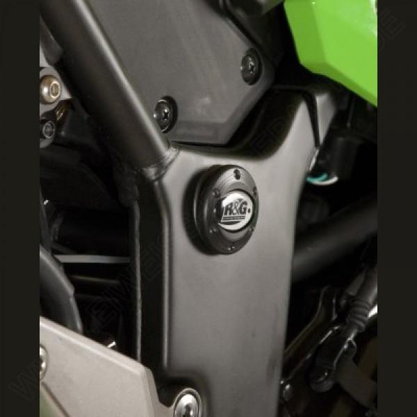 R&G Racing Rahmen Abdeckung Set Kawasaki Ninja 250 / 300 2008-2017