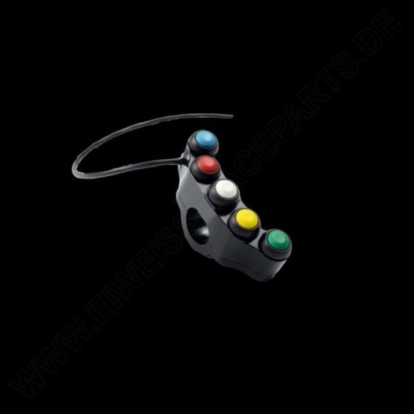 Accossato 5 Button Panel Left MP1 / MP2 / TC+ / TC- / PIT