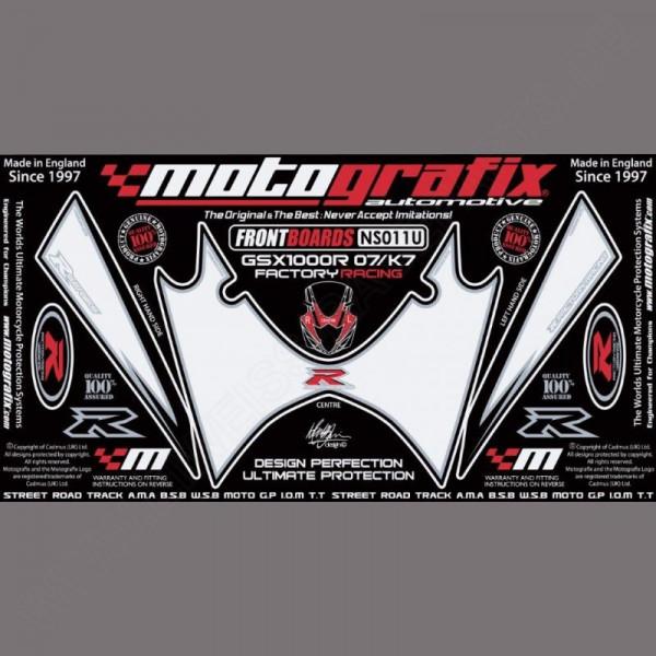 Motografix Steinschlagschutz vorn Suzuki GSX-R 1000 2007-2008 NS011U