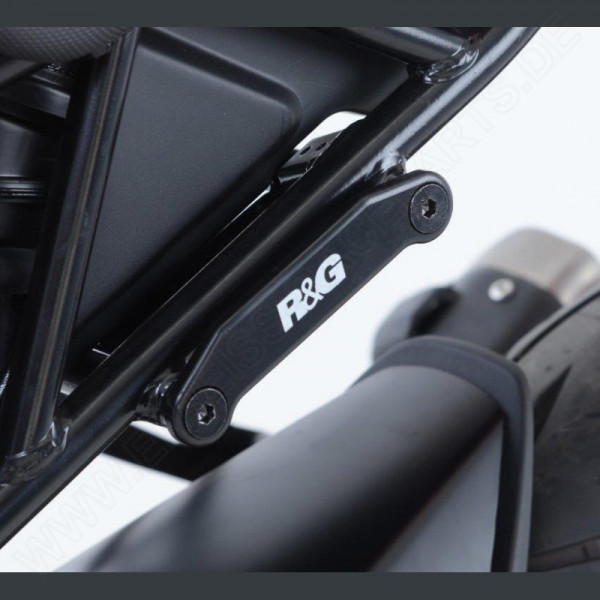 R&G Rear Foot Rest Plates KTM RC 125 / 390 2017-