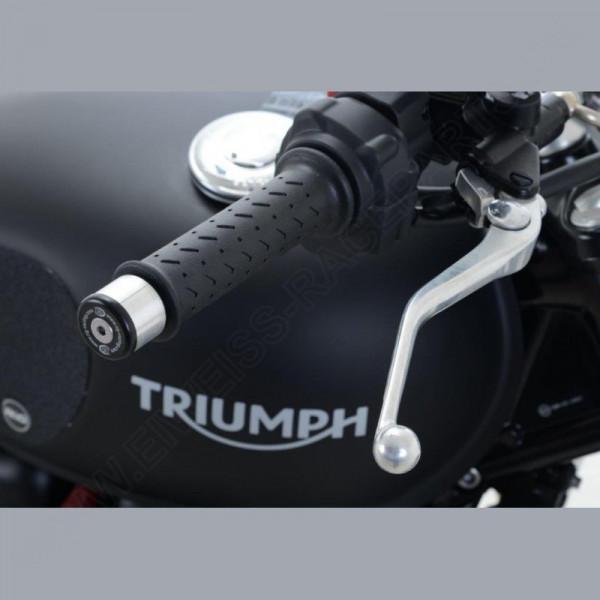 R&G Racing Bar End Slider Triumph Street Twin 900 2016-
